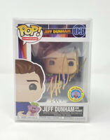 Funko POP! COMEDIANS - - AUTOGRAPHED JEFF DUNHAM and PEANUT #03 - GOLD EXCLUSIVE