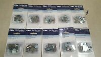Lot of 10 - Ilco Mail Box Lock with Spring Clip 113-14-51