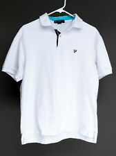 New listing Men's Daniel Cremieux Large White Rugby style Polo