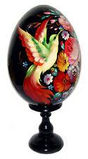 Oeuf russe en bois décoré Oiseau de feu, Collection Oeuf russe en bois, Oiseau