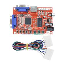 New VGA to CGA/CVBS/S-Video HD Arcade Video Game Converter Board GBS-8100
