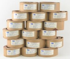 "UEI Uneeda Z-972 Belts 2 1/2"" x 52"" 641XH Cloth 400 Grit LA T13 Lot of 17 Rolls"