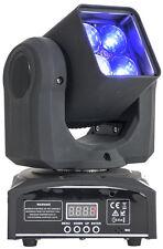 Ibiza light LMH410Z mini beam rgbw led moving head avec zoom 10-60 °