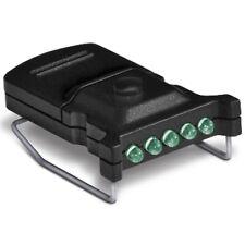 Cyclops Cyc-Mhc-G Micro Hat Clip Light with 5 Green Led Black Body Bulbs