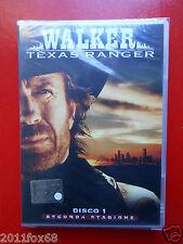 walker texas ranger n.1 seconda stagione chuck norris arti marziali film dvd's