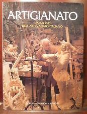 arti manuali manifattura P. Chiara, Catalogo Artigianato Italiano 1984 Mondadori