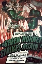 Green Hornet Strikes Again! - Cliffhanger Serial DVD  Warren Hull  Wade Boteler