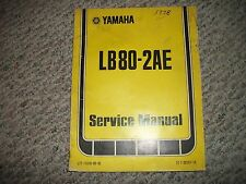 Yamaha LB80-2AE OEM Service Manual