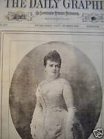 1888 New York Daily Graphic-August 4 - A Southern Belle