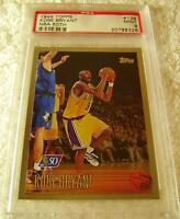 KOBE BRYANT 1996 TOPPS NBA 50TH FOIL ROOKIE #138 PSA 9 WAY LOWER POP THAN CHROME