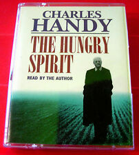 Charles Handy Reads The Hungry Spirit 2-Tape Audio Book Philosophy/Business