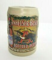 Anheuser-Busch Budweiser Bottled Beer Beer Stein Mug Ceramarte 1991 Mug Cup