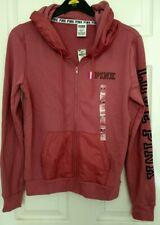 BNWT Victoria's Secret Pink Love Medium Hoodie full Zip top Jacket M UK 10