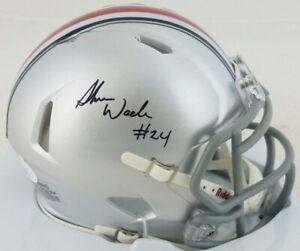 Shaun Wade Signed Ohio State Buckeyes Speed Mini Helmet (JSA Signature Debut...