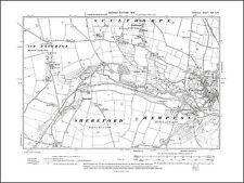 Heydon Norfolk in 1907 27SE repro Old map of Oulton
