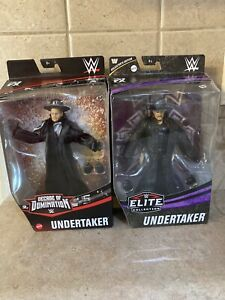 WWE Decade Of Domination & Elite Collection Undertaker Action Figure In Hand