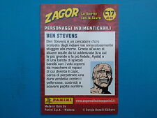 Figurine Panini Zagor Card n.17 Panini Zagor Card C17