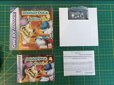 GAME BOY GAMEBOY ADVANCE GBA BOXED BOITE DONALD DUCK ADVANCE AGB-ADKP-EUR