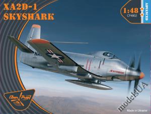 Douglas XA2D-1 Skyshark 1:48 Clearpropmodels CP48002