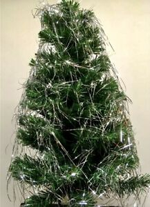 Lametta Silver Angel Hair tinsel Christmas Tree Decoration Foil Shredded 50cm