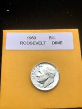 """1960-P Silver Roosevelt Dime Choice//Gem Bu.With /""""Mint Luster/"""""""