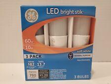 Led Light Bulbs Lamp Ceiling Fan Lighting Bright Stik General Electric