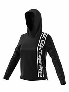 Adidas Women's Cowl Neck Long Sleeve Celebrate Hoodie (Black, S)