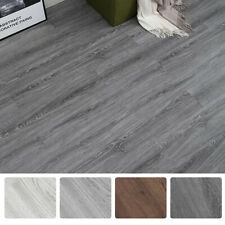 36Pcs Self-Adhesive PVC Vinyl Floor Planks Wood Tiles Peel Stick 54 Square Feet