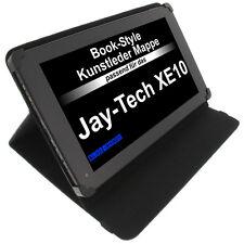 Tasche für Jay-tech XE10 Book Style Schutz Hülle Tablet Case Schwarz