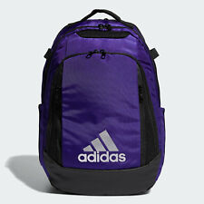 🔥 adidas 5-Star Team Backpack Gym School Bag Purple NWT FAST SHIPPING!!!