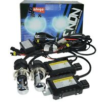 12V H4-3 Hid kit 55W H4 bi xenon conversion kit Bulbs 4300K 6000K 8000K Ballast