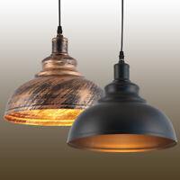 Modern Home Vintage Industrial Retro Loft Iron Ceiling Lamp Shade Pendant Light