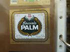 VINTAGE BELGIUM BEER LABEL. PALM BREWERY - PALM SPECIAL BEER 33 CL