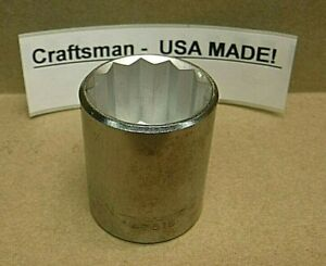 "Craftsman 1-1/16"" Socket  34057 EE USA MADE  NEW"