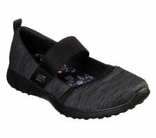 Skechers Black shoes Memory Foam Women Sport Walk Comfort Casual Mary Jane 23575