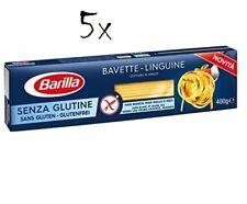 5x Barilla Bavette linguine 400g senza Glutine Glutenfrei pasta nudeln