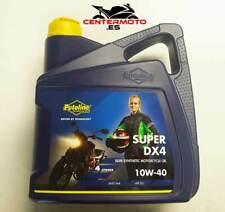 Aceite Putoline SUPER DX 4 | 10W-40 | 10W40 | Semisintetico | Moto | 4 litros