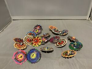 Beyblade Tazo Spinners Lot holograms all different 20 In Total