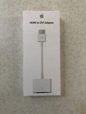 Genuine Apple HDMI to DVI Adapter - MJVU2AM/A