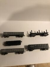 Marx litho train cars lot5 For Parts