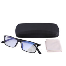Blue Light Blocking Computer Glasses UV400 Anti Eyestrain Radiation Black Frame