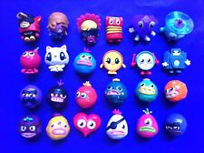 MOSHI MONSTERS Series 2 ☆ Full Set 24 ☆ Lady Goo Goo Blingo Plinky Roxy Rares