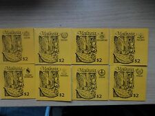 Malaysia 1987 Agricultural Products definitives ALL 14 $2 Stamp Booklets