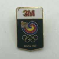 1988 Seoul Olympics 3M Advertising Lapel Hat Pin Vintage   R6