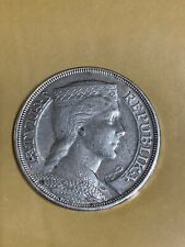 More details for latvia1931 5 lati silver crown coin ef condition