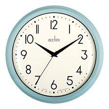 Acctim Amelia Wall Clock Blue 26cm - 22249