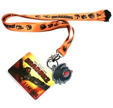 New How To Train Your Dragon LANYARD With DANGLE & ID Holder 36 Inches Overall