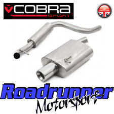 """Cobra FD17 Fiesta ST150 MK6 Exhaust System Stainless 2.25"""" Cat Back Resonated"""
