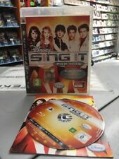 Disney Sing It Pop Hits Ita PS3 USATO GARANTITO