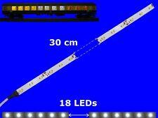 s895-5 piezas LED Iluminación Del Coche 300mm Blanco Analógico + DIGITAL